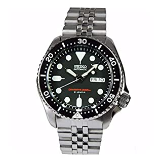 Seiko Men's Analogue Automatic Watch with Stainless Steel Bracelet – SKX007K2 (B000B5OD4I) | Amazon price tracker / tracking, Amazon price history charts, Amazon price watches, Amazon price drop alerts