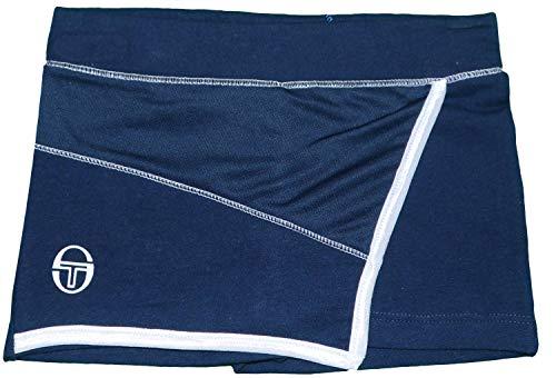 Sergio Tacchini - Zapatillas de tenis para niñas, azul marino, 3-4 años