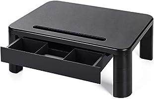LORYERGO Soporte de Monitor con 3 Alturas Ajustables Monitor Elevador Mesa con Organizador para Almacenamiento, para...