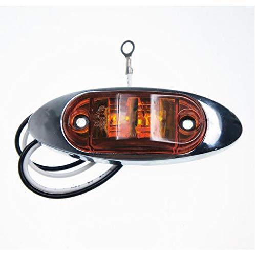 GOFORJUMP Douille de Lampe chromée Ovale pour Lampes LED Blanc