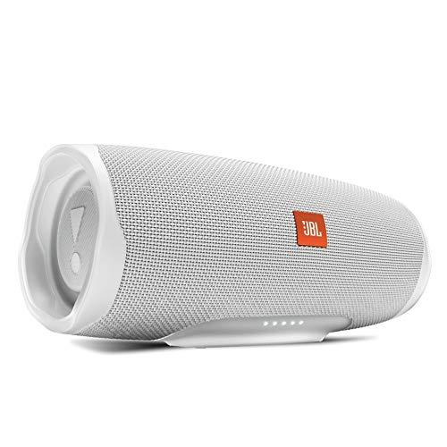 JBL CHARGE4 Bluetoothスピーカー IPX7防水/USB Type-C充電/パッシブラジエーター搭載 ホワイト JBLCHARGE4WHT【国内正規品/メーカー1年保証付き】