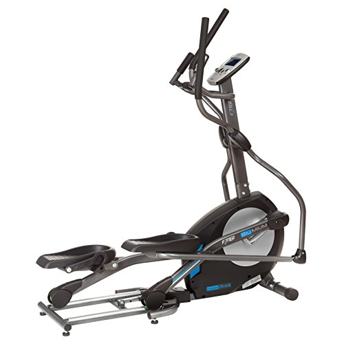 FYTTER CROSSER CR-10B. Semi-professional and folding Cross-trainer with 11 kg flywheel with digital resistance.