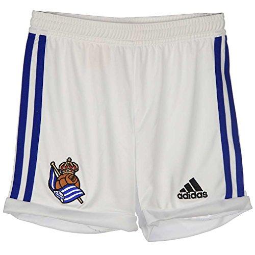 adidas Real Sociedad Home Short - Pantalón Corto Real Sociedad 2ª equipación 2015-2016 Hombre