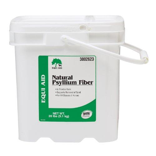 Farnam Equi Aid Natural Psyllium Fiber Powder, 20-Pound