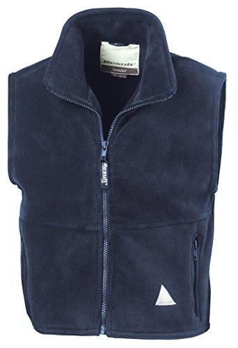 Result Re37j Polartherm Gilet sans Manches pour Enfant, Enfant, RE37J, Bleu Marine, Small/Size 6-8