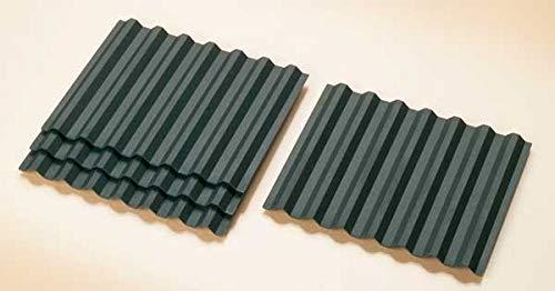 Auhagen 41613.0 - Dachplatten trapezförmig, 117 x 95 mm, bunt