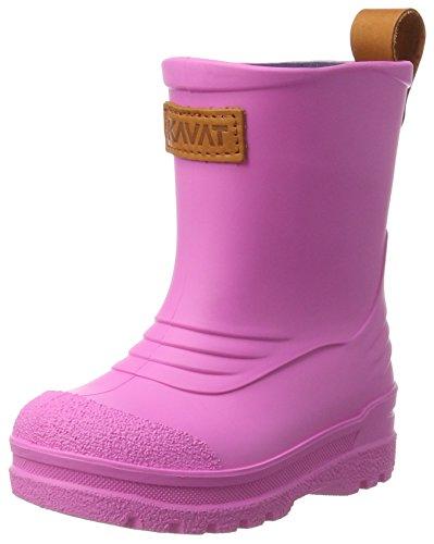 Kavat Mädchen Grytgöl WP Regen Stiefel, Pink (Cerise), 35 EU