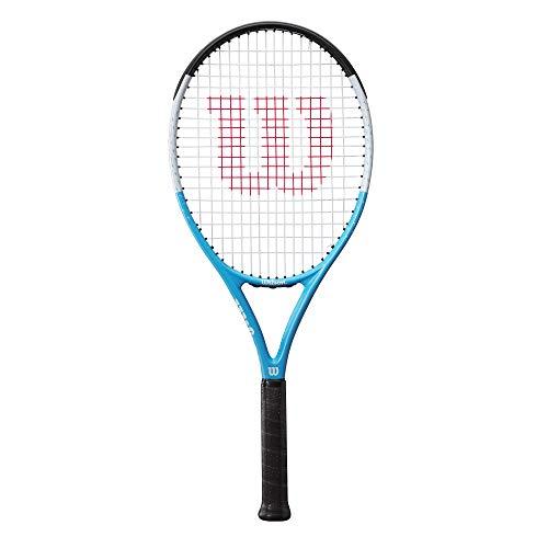 Wilson Ultra Power RXT 105 Raqueta de tenis, Jugador ocasional, Compuesto fibra de carbono, Azul negro gris, WR055110U3
