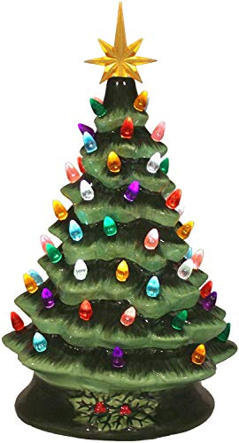 The San Francisco Music Box Company 14' Musical Ceramic Lighted Christmas Tree