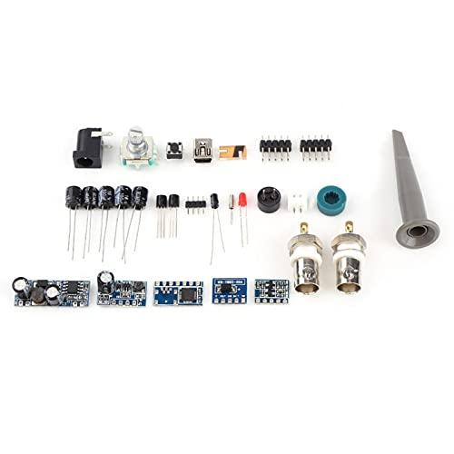 Data Logger Program Generator Storage Osciloscopio Kit de bricolaje Osciloscopio digital estándar con LCD 20MHz Probe Teaching Set for Industry