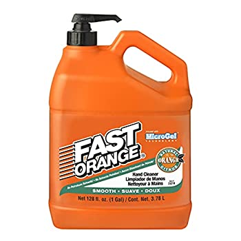 Permatex 23218 Fast Orange Smooth Lotion Hand Cleaner with Pump 1 Gallon