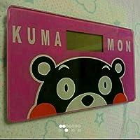 くまモン体重計ピンク&黒二色あり