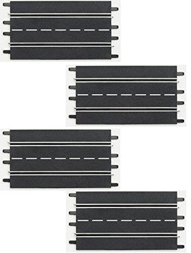Carrera 20509 Standard Straights Track Extension Pack for Digital 124/132, Evolution Slot Car Race Set (4 pcs)
