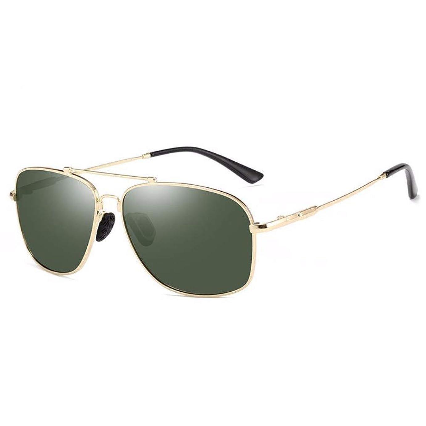 クリスチャン離婚更新するZZXIA-サングラス 男性の偏光鏡の外で車を運転してサングラスのブロックの復古の太陽の眼鏡を運転します
