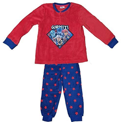 Gormiti The Invincible Lords of Nature - Pijama de estrellas rojo 9 años