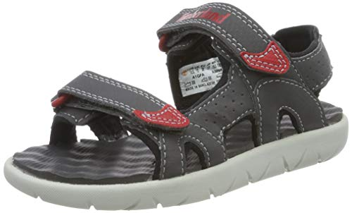 Timberland Perkins Row 2-Strap, sandale junior Descubierta Unisex niños, Gris (Forged Iron), 27 EU