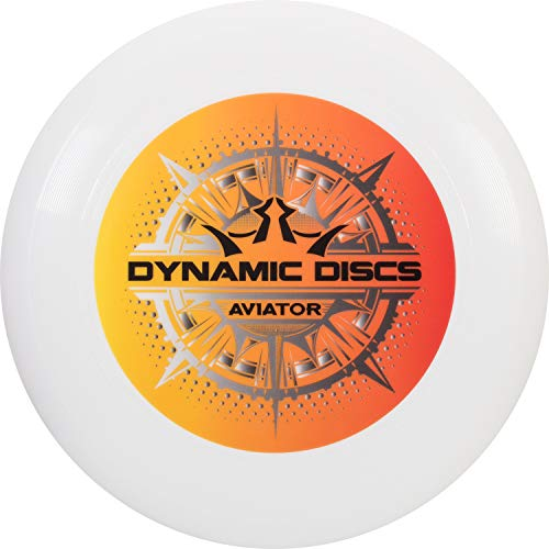 Dynamic Discs Aviator Ultimate Disc   175g Ultimate Frisbee   Consistent and Predictably Flying Ultimate Frisbee Disc (Orange/Black)