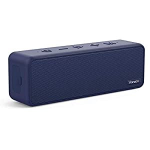 Bluetooth Speakers – Vanzon X5 Pro Portable Wireless Speaker V5.0 with 20W Loud Stereo Sound, TWS, 24H Playtime & IPX7 Waterproof, Suitable for Travel, Home and Outdoors
