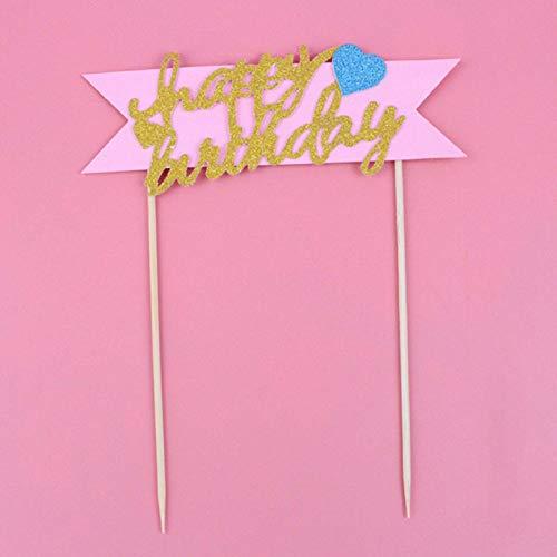 Jyuesi Elaborate roze blauwe regenboog wolk ballonnen collectie taart topper dessert decoratie voor verjaardag partij mooie geschenken Freeshipping