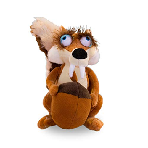 IZvs53C Animal Doll ice Age scratte Squirrel Stuffed Stuffed Toy Baby (Female Squirrel, 20cm) (Female Squirrel, 10.7in)