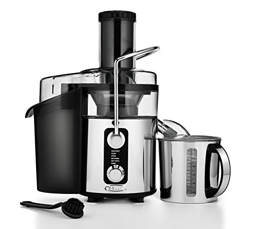 BELLA 5-SPEED Centrifugal Elite Stainless Steel Juicer, 1000 watts
