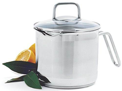 Norpro 8 Cup Multi Pot with Straining Lid, 1.9 Liter, Silver