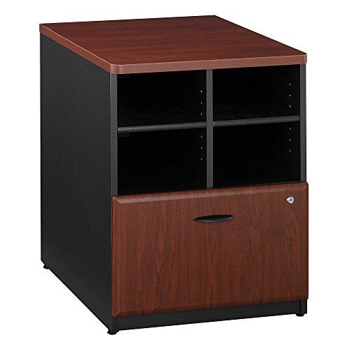 Bush Business Furniture Series A Collection 24W Piler Filer in Hansen Cherry