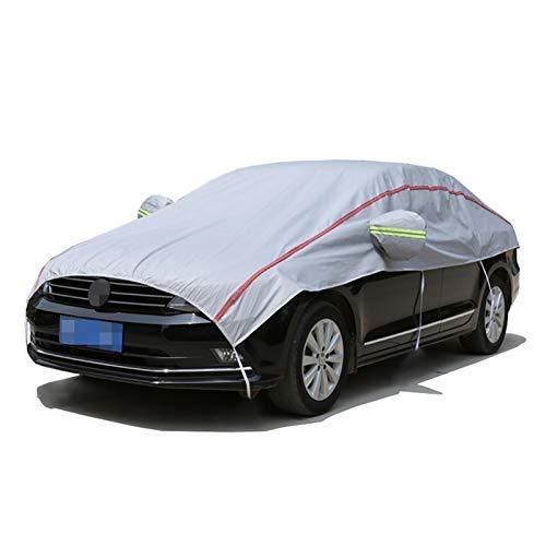 Fundas para coche Cubierta de coches Compatible con Clase de Brabus CLS, Cubierta de medio cochecito transpirable impermeable, cubierta de parabrisas gruesa, cubierta de espejos de lana de algodón