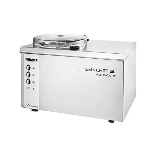 NEMOX Turbine à glace Gelato Chef 5L Automatic