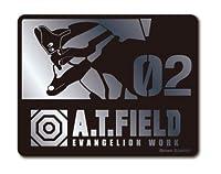 A.T.FIELD ステッカー 弐号機 02 ATF017S 鏡面 シルバー エヴァンゲリオン