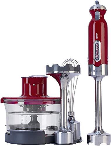 Kenwood HB891 - Batidora de brazo, 700 W, tecnología triblade, brazo pasapurés, varillas, procesador de alimentos de 1 litro