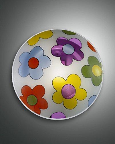 FABAS LUCE 2607–61–102a, lampada, vetro, 3W, A55, Bianco, 10x 15x 20cm