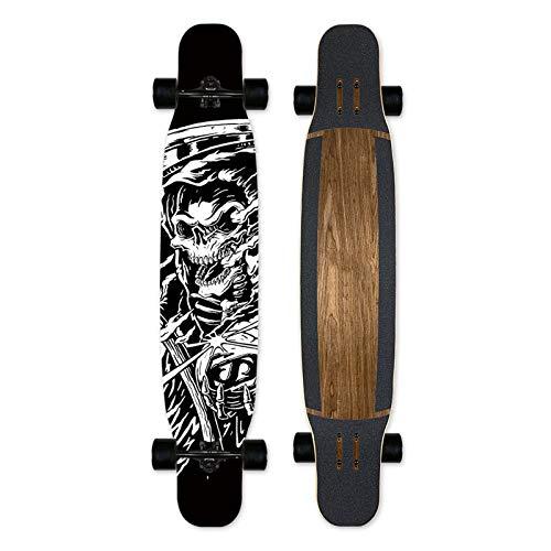 Bassa marea per professionisti e principianti, longboard per bambini, adolescenti e adulti, freeride skateboard cruiser e downhill longboard-7 strati di acero