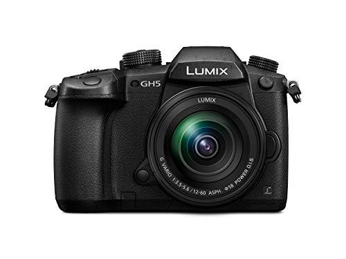 """Panasonic Lumix GH5M - Cámara Evil de 20.3 MP (Pantalla de 3.2"""", Visor OLED, estabilizador Dual I.S II 5 Ejes, 4K, Wi-Fi, Bluetooth), Kit con Objetivo Lumix Vario 12-60mm/F3.5-F5.6"""