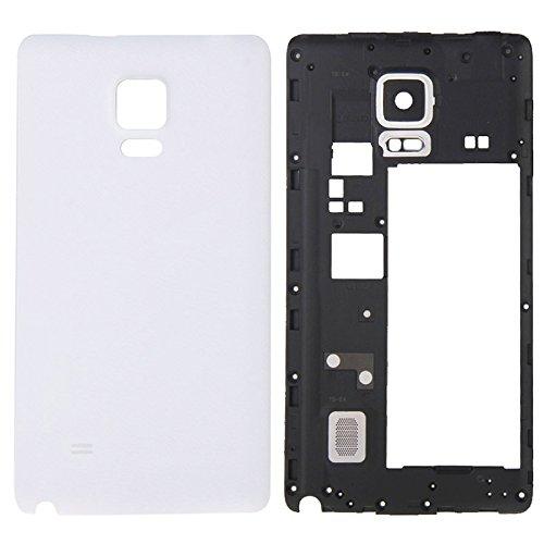 Ypshell Reemplazo completo de la cubierta de la carcasa (bisel de marco medio reemplazo de la cubierta posterior de la batería) for SAMSUNG Para Galaxy Note Edge / N915 Reparación de la contraportada.