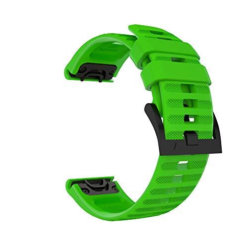 Great Price! Sillicone Watch Band for Garmin Fenix 6,6 Pro,Fenix 5,5 Plus,Forerunner 935,Forerunner ...