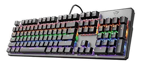 Trust Gaming GXT 865 Asta Mechanische Tastatur, QWERTY + Nederlandse Toetsenbord - Schwarz