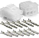 Molex -3 Complete Set - (6 Circuit) w/14-20 AWG, Wire Connector - 2.13mm D, Latch Lock, MLX