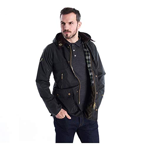 Barbour 125th Anniversary Icons Bedale Wax Sage-XXL