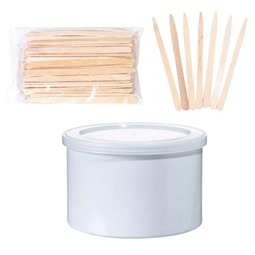 Cirepil Empty Can and 100 Eye Brows Applicator Sticks
