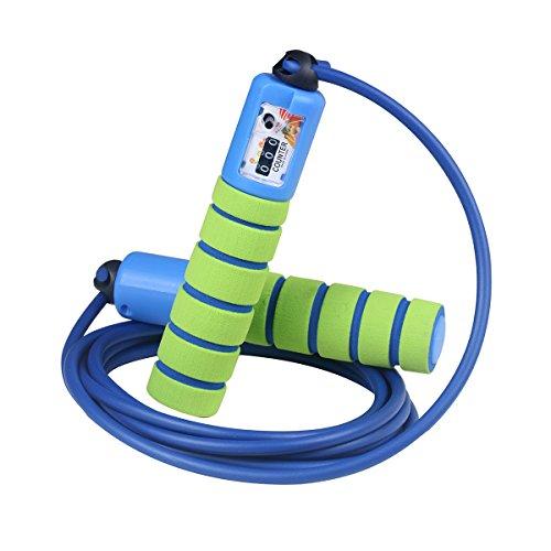 Browill Springseil Speed Rope von Pretop Mit Zähler Und Komfortablen & Anti-Rutsch Griffen, Licht, Springseile Für Workout, Crossfit, Boxen, Training Und Fitness