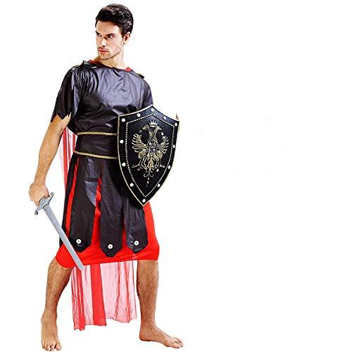 thematys® Disfraz de Gladiador Guerrero Romano para Hombre Cosplay, Carnaval y Halloween - Talla única 160-180cm