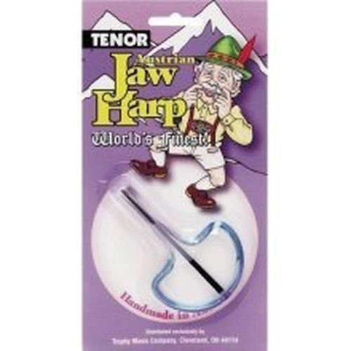 New 3494 Trophy Tenor Jaw Harp Music Instrument Sale New In Pack