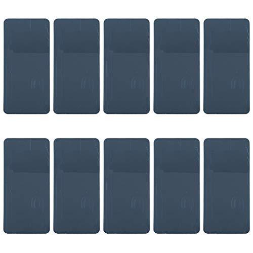 MENGHONGLLI Accesorios de reemplazo de teléfonos celulares 10 PCS Battery Carging Back Cubierta Adhesiva para Google Pixel 3 XL Pieza de Repuesto de teléfono