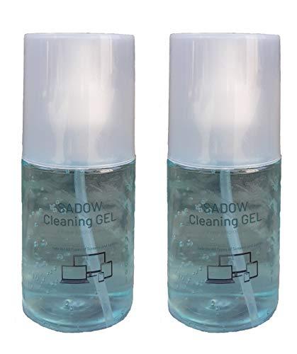 Sadow Perfumed Screen Cleaner,Cleaning kit, Cleaner kit, LCD Cleaning kit Solution Spray Fluid Gel Multi-Purpose for Mobile Laptop/Desktop, Camera Lens, LCD Display 200ml(Pack of 2)