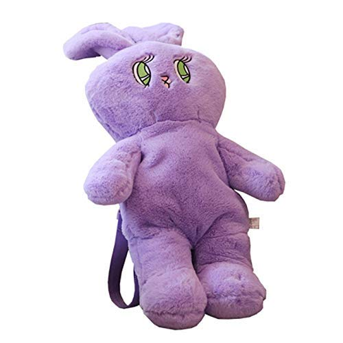 danyangshop Plush Toys 1 Pcs Cute Plush Rabbit Backpack Kawaii Bunny Backpack Stuffed Rabbit Toy Children School Bag Gift Kids Toy For Little Girls Bag