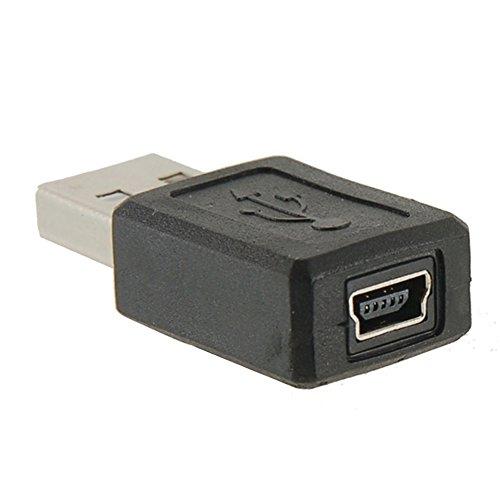 Adaptador USB Macho a Mini USB Hembra