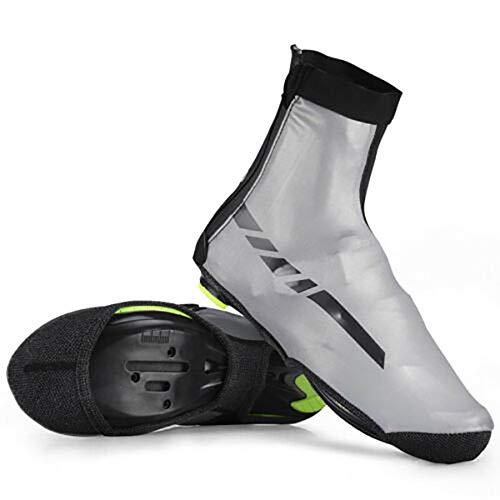 Lesrly-Cycle Funda Para Zapatos De Invierno, Resistente A Altas Temperaturas, Impermeable Y CáLido, Resistente Al Viento, DiseñO Reflectante, Adecuado Para Hombres Y Mujeres En Carretera, M