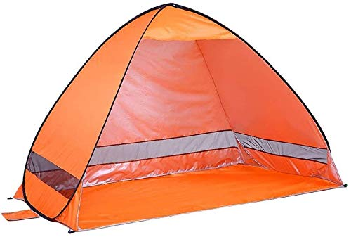 Pop up Anti UV Cabana Beach Tent Shelter 2 Person Portable Outdoor Fishing Canopy Sets up in Seconds 200 x 120 x 130cm Automatic Camping Tent