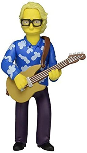Mike Mills R.E.M. Simpsons 25th Anniversary 5 Inch Series 3 NECA Action Figure by NECA